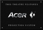 Sign Acer Projector B