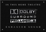 Sign Dolby Surround Pro Logic II B