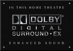 Sign Dolby Digital Surround EX B