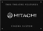 Sign Hitachi Cinema B