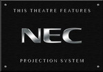 Sign NEC Projector B