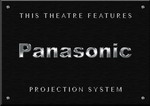 Sign Panasonic Projector B