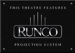 Sign Runco Projector B