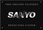 Sign Sanyo Projector B