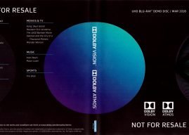 Review: Dolby UHD Blu-Ray Demo Disc / March 2018
